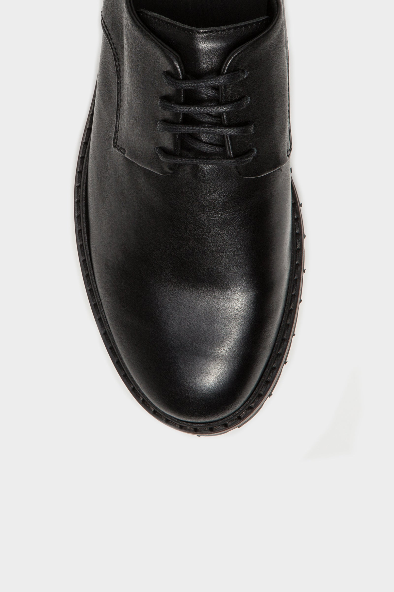 Davis Derby - Black Leather