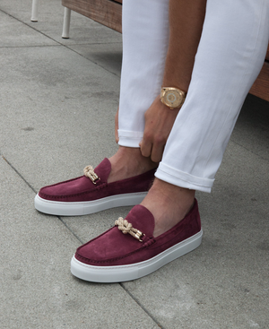 Bitton - Burgundy Suede