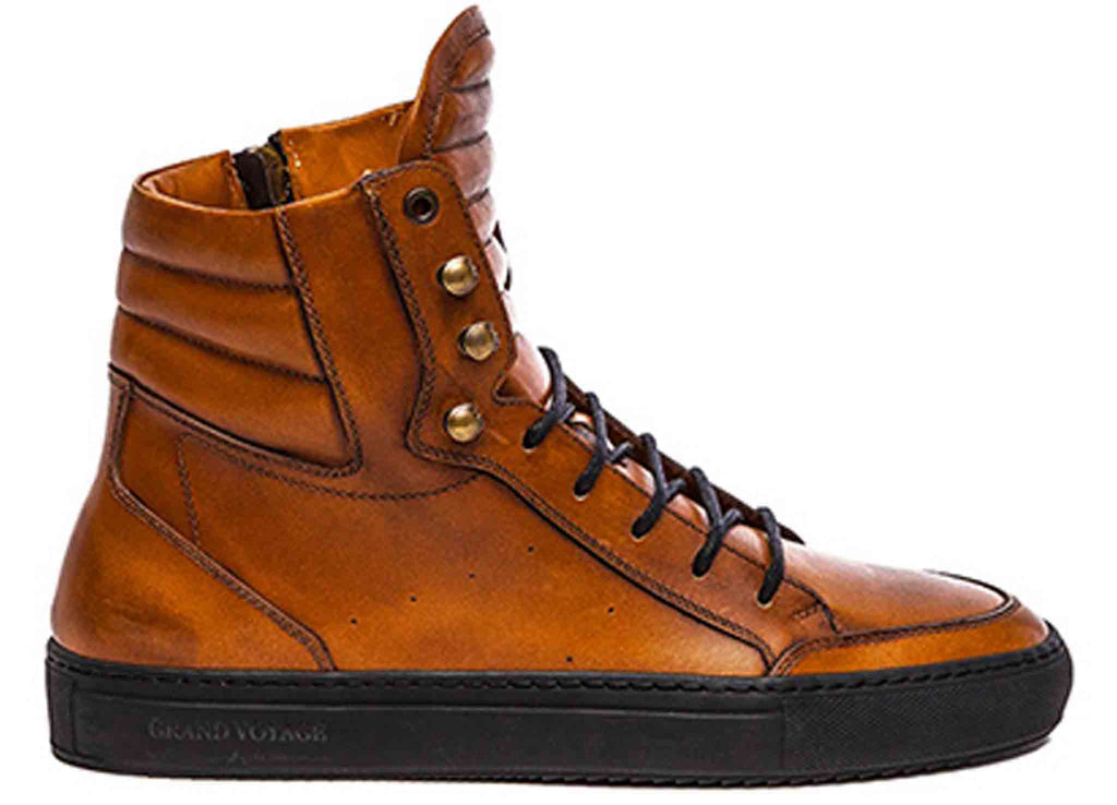 Belmondo High - Camel Leather