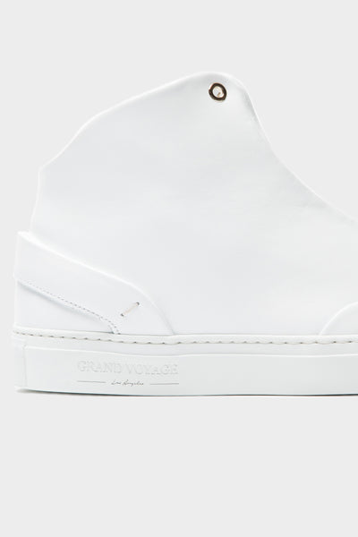 Avedon Mid - White Leather
