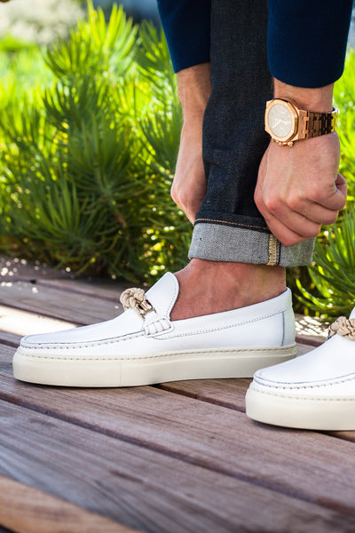 Bitton - White Leather