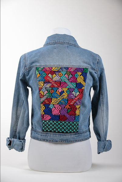 Huipil Denim Jacket