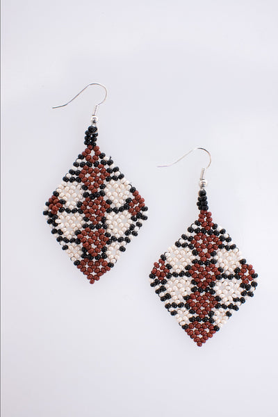 EL DIAMANTE EARRINGS (RED)