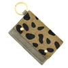 Cow Print Card Holder