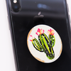 Painted Cactus Phone Charm