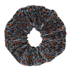 Leopard Pleated Scrunchie