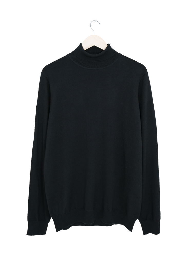 Agnar - T-neck - Black - Nordre