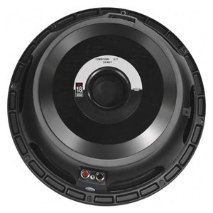 Eighteen Sound 12MB1000 12-inch High Output Midrange Speaker 600 Watt RMS 18Sound 753807515702 back rear basket view