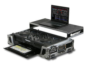 Odyssey FZGSMIXDECKGT Mix Deck Case W/Glide Tray CD Mix Combo Case
