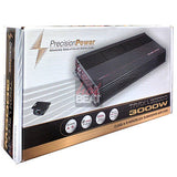 Precision Power Class A/B Car Amplifier TRAX 3,000 watts Monoblock Subwoofer Amp