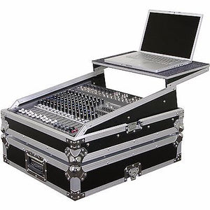 "Odyssey FZGSMX1912 Flight Case for 19"" Rackmount Live Sound Mixer Console Glide"