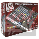 Allen & Heath ZED 60/14FX Compact Live & Studio Mixer w/ Digital FX & USB port