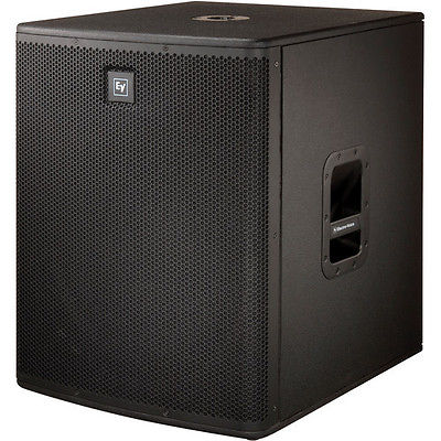 "Electro-Voice EV ELX118P Live X Active 18"" Powered Subwoofer 800549589529"
