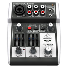 Load image into Gallery viewer, Behringer XENYX 302USB 5-Input Compact Mixer and USB Interface 736211582645 front view