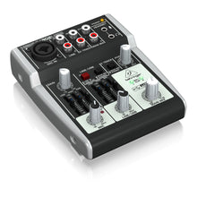 Load image into Gallery viewer, Behringer XENYX 302USB 5-Input Compact Mixer and USB Interface 736211582645 left side