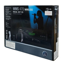 Load image into Gallery viewer, AKG WMS470 Wireless C5 Vocal Condenser Microphone Set (Band-7) 3306X00370 Main Image
