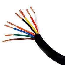 Load image into Gallery viewer, 100ft foot 12ga gauge 8conductor PRO AUDIO HIGH POWER SPEAKER CABLE WIRE SNAKE