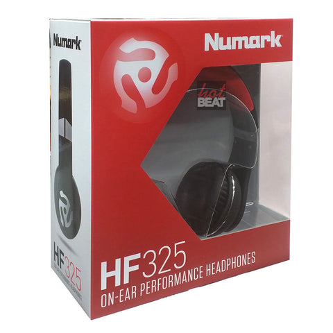 Numark HF325 On-Ear Professional Studio-Grade Full Range DJ Monitoring Headphone