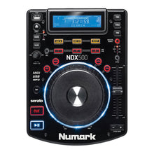 Load image into Gallery viewer, Numark NDX500 Tabletop USB/CD Media Player Software Controller NDX-500 Ship FAST