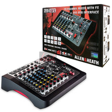 Load image into Gallery viewer, Allen & Heath ZEDi-10FX Compact Mixer/USB Interface w/ Effects 750408398918