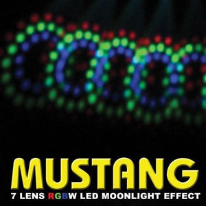 XStatic X-732 LED MUSTANG Moonlight RGBW 385 LEDs Effect DJ Club Stage 110-240V