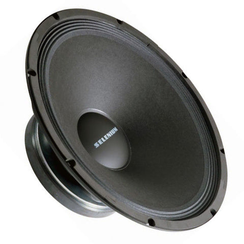 "Selenium 15PW4 15"" Woofer Speaker Replacement 250 Watt RMS 8 ohms Made in Brazil"