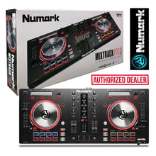 Load image into Gallery viewer, Numark Mixtrack Pro 3 Professional DJ Controller SeratoDJ 0676762191517 Black
