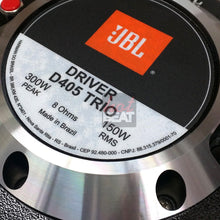 "Load image into Gallery viewer, JBL Selenium D405 Trio Super Driver 150W RMS 8 Ohms 2"" Exit 7896359519422 Brazil"