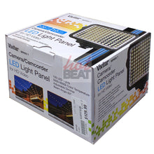 Load image into Gallery viewer, Vivitar Bright Adjustable 120 LED Continuous Light Panel Camera Camcorder Video