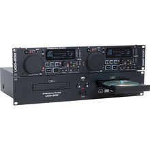 Load image into Gallery viewer, American Audio UCD-200 MKII Professional Dual CD/USB Player 640282003636