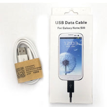 Load image into Gallery viewer, Micro USB White Data Cable Charger Cord for Samsung Galaxy S2 S3 S4 Note 2 3 4 5