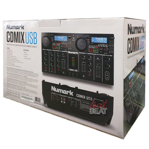 Numark CDMixUSB Dual CD Media Player 2-Deck Mixer DJ Controller 676762824217