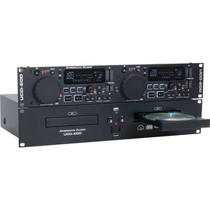 American Audio UCD-200 MKII Professional Dual CD/USB Player 640282003636