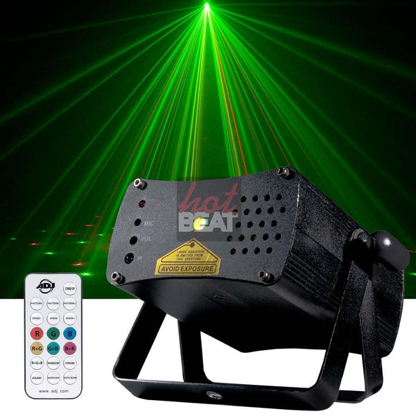 ADJ American DJ Micro Galaxian II Laser Green Red Lights Club DJ Party & Events