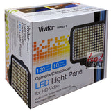 Vivitar Bright Adjustable 120 LED Continuous Light Panel Camera Camcorder Video