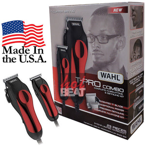 Wahl Professional Hair Clipper Kit 23-pc Barber Pro Hair Cutting Set MADE IN USA
