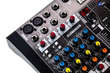 Allen and Heath ZED6FX Compact 6 Input Analog Mixer FX Effects 48V Phantom Power