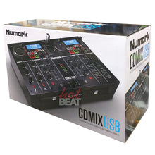 Load image into Gallery viewer, Numark CDMixUSB Dual CD Media Player 2-Deck Mixer DJ Controller 676762824217