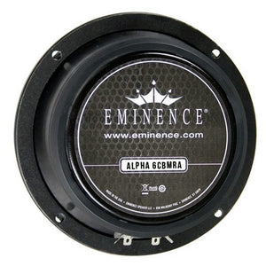 Eminence Alpha-6CBMRA 6.5-inch Sealed Back Speaker 100 Watt RMS 8-ohm rear back view