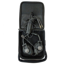 Load image into Gallery viewer, AKG AV100 ANR Aviation Pilot Headset 6-pin LEMO Plug Dual GA Adapter Bluetooth 885038035725 in bag
