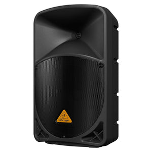 Behringer EUROLIVE B112W 12-inch Active Powered PA Speaker System 696859053917 front right view