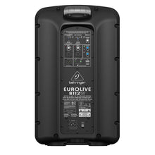 Load image into Gallery viewer, Behringer EUROLIVE B112W 12-inch Active Powered PA Speaker System 696859053917 rear back view
