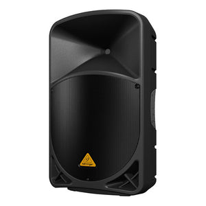 Behringer EUROLIVE B115W 15-inch Powered PA Speaker System 696859053900 front side right view