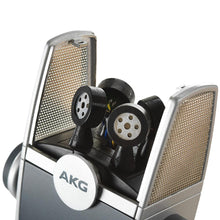 Load image into Gallery viewer, AKG C44 USB LYRA Microphone 192 kHz for Podcast Studio Music Video Gaming 885038040804 inside view