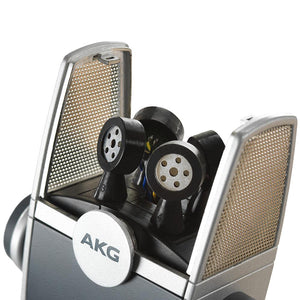 AKG C44 USB LYRA Microphone 192 kHz for Podcast Studio Music Video Gaming 885038040804 inside view