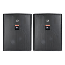 "Load image into Gallery viewer, JBL Control 25AV 5.25"" 2-Way 200W Shielded Indoor/Outdoor Pair Speakers 70V 100V (Open Box)"