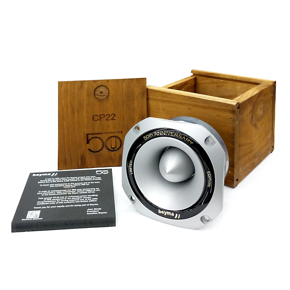 Beyma CP22-50AN 50th Anniversary Limited Edition High Compression Tweeter main view
