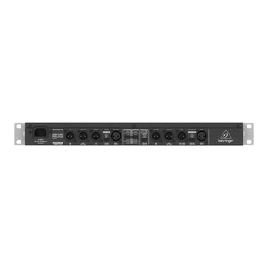 Behringer SUPER-X PRO CX3400 V2 Stereo 2-Way/3-Way/Mono 4-Way Crossover 653341311030 rear back view