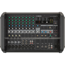Load image into Gallery viewer, Yamaha EMX5 12-Channel Stereo Powered Mixer Integrated Built-in Amplifier 889025106221 facing front center