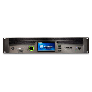 Crown I-Tech 4x3500HD 4-Channel Tour Sound Amplifier OMNIDRIVEHD 691991008023 front panel view